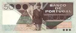 Португалия: 5000 эскудо 1980-86 г.
