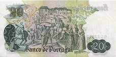 Португалия: 20 эскудо 1971 г.