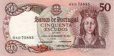 Португалия: 50 эскудо 1964 г.