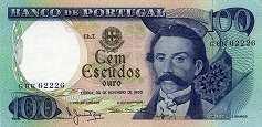 Португалия: 100 эскудо 1965-78 г.
