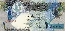 Катар: 1 риал (2008 г.)