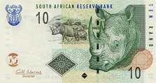 ЮАР: 10 рэндов (2005 г.)