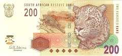 ЮАР: 200 рэндов (2005 г.)