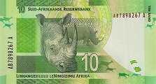 ЮАР: 10 рэндов (2012 г.)