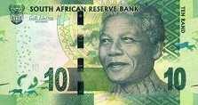 ЮАР: 10 рэндов (2013-16 г.)