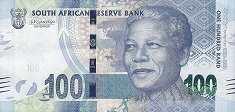 ЮАР: 100 рэндов 2018 г. (юбилейная)