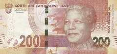 ЮАР: 200 рэндов 2018 г. (юбилейная)