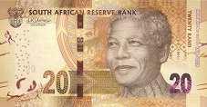 ЮАР: 20 рэндов 2018 г. (юбилейная)
