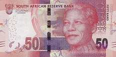 ЮАР: 50 рэндов 2018 г. (юбилейная)