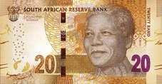 ЮАР: 20 рэндов (2013-16 г.)