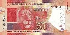 ЮАР: 50 рэндов (2013-16 г.)