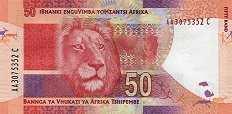 ЮАР: 50 рэндов (2012 г.)