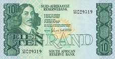 ЮАР: 10 рэндов (1978 г.)