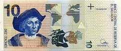 Сальвадор: 10 колонов 1997-98 г.