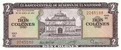 Сальвадор: 2 колона 1976 г.