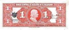 Сальвадор: 1 колон 1944-51 г.