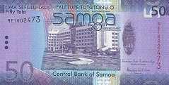 Самоа: 50 талов (2012 г.) (юбилейная)