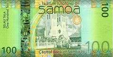 Самоа: 100 талов (2014-17 г.)