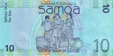 Самоа: 10 талов (2008-17 г.)
