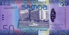 Самоа: 50 талов (2014-17 г.)