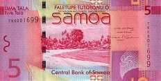 Самоа: 5 талов (2008-17 г.)
