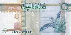 Сейшелы: 10 рупий 2013 г. (35 лет ЦБ)