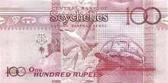 Сейшелы: 100 рупий 2013 г. (35 лет ЦБ)