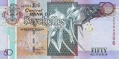 Сейшелы: 50 рупий 2011 г.