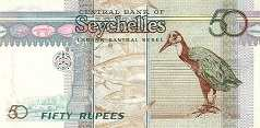 Сейшелы: 50 рупий (1998 г.)