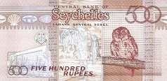 Сейшелы: 500 рупий 2011 г.