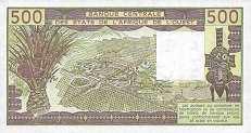 Сенегал: 500 франков CFA-BCEAO (1981-90 г.)