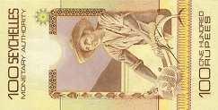 Сейшелы: 100 рупий (1980 г.)