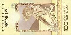 Сейшелы: 100 рупий (1983 г.)