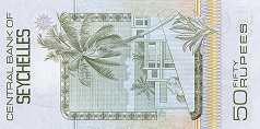 Сейшелы: 50 рупий (1983 г.)
