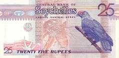 Сейшелы: 25 рупий (1998-2010 г.)
