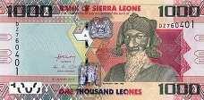 Сьерра-Леоне: 1000 леоне 2010-13 г.