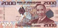 Сьерра-Леоне: 2000 леоне 2010-13 г.