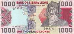 Сьерра-Леоне: 1000 леоне 1993-98 г.