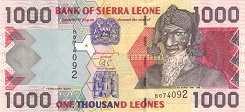 Сьерра-Леоне: 1000 леоне 2002-06 г.