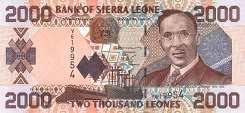 Сьерра-Леоне: 2000 леоне 2002-06 г.