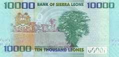 Сьерра-Леоне: 10000 леоне 2010-15 г.