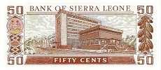 Сьерра-Леоне: 50 центов 1979-84 г.