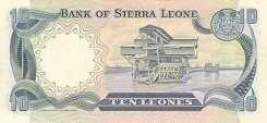 Сьерра-Леоне: 10 леоне 1980-84 г.