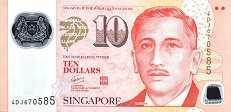 Сингапур: 10 долларов (2005-2016 г.)