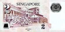Сингапур: 2 доллара (2006-2015 г.)