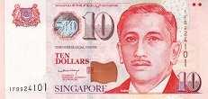 Сингапур: 10 долларов (2005 г.)