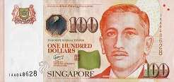 Сингапур: 100 долларов (2009-2016 г.)
