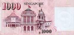 Сингапур: 1000 долларов (2010-2016 г.)