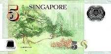 Сингапур: 5 долларов (2007-2015 г.)