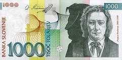 Словения: 1000 толаров 2003 г.